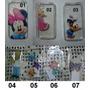 Capa - Case Celular Iphone 4 E 4s - Transparente Desenhos