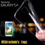 Samsung Galaxy S4 Capa Gel Preta / Fumê Ultra Fina 0.4mm