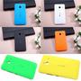 3 Tampas Case Traseira Celular Lumia 640 Xl + Pelicula Vidro