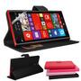 Capa Case Carteira Couro Nokia Lumia 1520 + Pelicula Premium