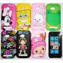 Capa Case Lumia 710 Cartton One Pice Minnie Bob