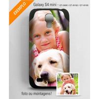 Capa Personalizada Com Foto Ou Montagem Para Galaxy S4 Mini