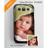 Capa Personalizada Com Foto Ou Montagem Para Galaxy Win Duos
