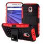 Capa Anti-impacto Moto X Play Moto X3 Xt1563+película Vidro