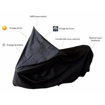 Capa Para Cobrir Moto Com Bauleto E Alforge (térmica) Gg