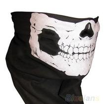 Mascara Balaclava Polyester Caveira Harley Drag Star Shadow