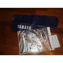 Capa De Banco Azul Marinho Escuro Dt 200 Dt200r Yamaha