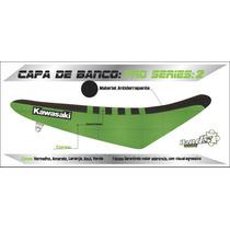 Capa De Banco Motos Kawasaki - Kdx Kx Kxf Klx