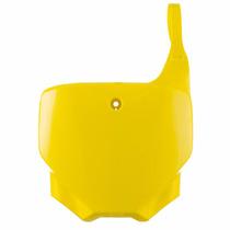 Peça Crf 230 Number Plate Placa Pro Tork Amarelo+brinde