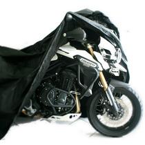 Capa Cobrir Moto Triumph 1200cc F800 Gs Xt 660 Max Racing