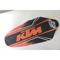 Capa Banco Personalizada Ktm 250-300-450 + Espuma Ressalt