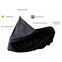 Capa Protetora Para Moto Térmica Gg Com Ilhós E Cadeado Gold