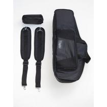 Bag Sax Tenor - Semi Case Silver Luxo + Mini Bag Para Tudel
