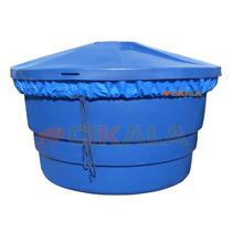 Capa Caixa Dagua Redonda 1000 Litros Proteção Sujeira Dengue