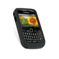 Capa Blackberry 8520 Curve Silicone Preta+pelicula Retire Rj