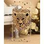 Capa Case Iphone 4s 4 Leopardo Dourado/prata Em 3d Strass