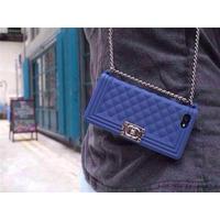 Capa Case Iphone 4 4s Bolsa C/ Corrente Le Boy