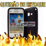 Capa Silicone Premium Samsung Galaxy Ace S6802 + Brinde