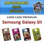 Capa Case Premium Samsung Galaxy S2 / I9100 + Película Fosca