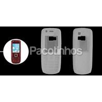 Capa Silicone Nokia 3120 Classic + Película Protetora Tela