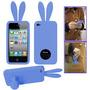 Capa- Case- Capinha Iphone 4-4s-coelhinho-rabito-azul-style.