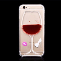 Capa Case Taça Vinho Iphone 4/4s/5/5s/6/6 Plus Menor Preco