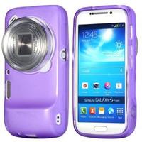 Capa Silicone Tpu Samsung Galaxy S4 Zoom C1010 + Película