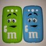Capa Galaxy S3 Silicone M&m