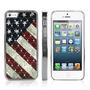 Capa Case Iphone 5 5s American Flag + Película