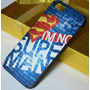 Capa Case Iphone 4 4s - I Am No Super Man - Super Homem