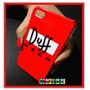 Capa Capinha Copo De Cerveja Duff Beer Para Iphone 4s Apple