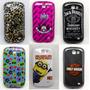 Capa Case Galaxy Express I8730 Tematicas + Pelicula Gratis