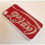 Capa Swaroski Coca Cola Iphone 4s + Película + Frete Grátis