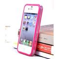 Case Capinha Capa Bumper Rosa Pink P Iphone 4 4g Iphone 4s