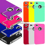 Capa Capinha Case Cromado Preto Rosa P Iphone 4 4g Iphone 4s