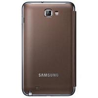Flip Cover Samsung Galaxy Note N7000 I9220 Capa Case Marrom