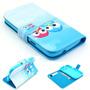 Capa Case Flip Carteira Corujas Galaxy S3 Duos I8262 I8260