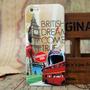 Capa Case Para Iphone 4s Britânica- Exclusiva - Frete Grátis