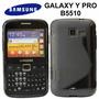 Capa Tpu Samsung Galaxy Y Pro B5510 + Pelicula + F Gratis