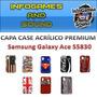 Capa Case Galaxy Ace S5830 + Película Fosca Anti-reflexo