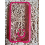 Capa Case Celular S5 Transparente Pink Mob