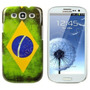 Capinha Para Samsung Galaxy S3 I9300 - Bandeira Brasil