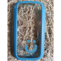 Capa Case Celular S3 Transparente Azul Claro Mob