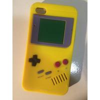 Capinha Capa Case Iphone 4 4s Game Boy Gameboy Amarela Luxo