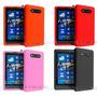 Case Capa Silicone Flexível Nokia Lumia 820 / Frete Gratis!
