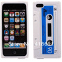 Capinha Capa Case Iphone 4/4s Fita Cassete K7 Retro Silicone
