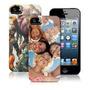 10 Case Capa Celular Iphone 5 5s P Sublimação Prensa Plana
