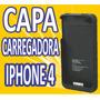 Capa Case Carregadora Iphone 4g 4s Apple Bateria Extra