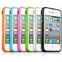 Capa Case Bumper Lateral P/ Celular Apple Iphone 4g 4s