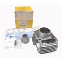 Kit Motor Ybr 125 (camisa/pistao /aneis) Metal Leve
